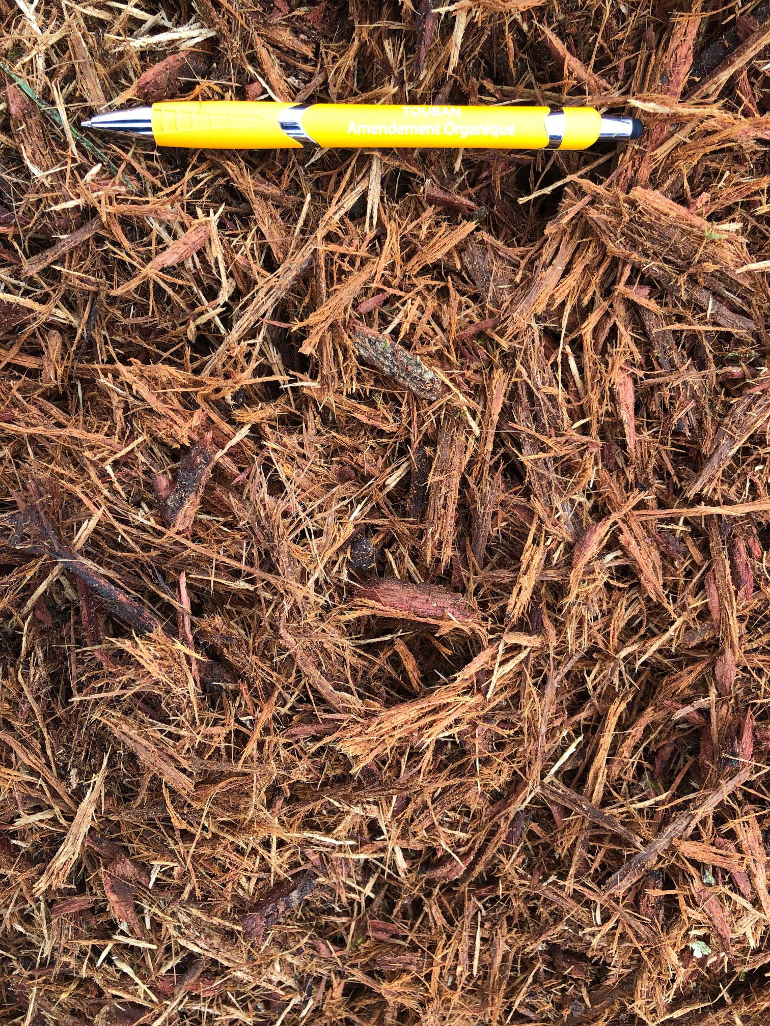 Paillage écorce de chêne